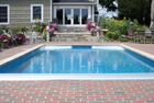 Custom Vinyl Pool with curved corners